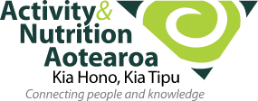 Activty & Nutrition Aotearoa logo